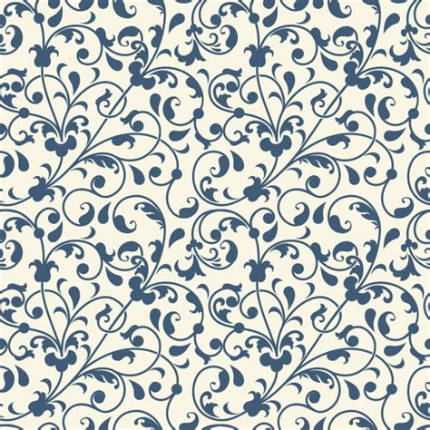 flower seamless pattern background vector free