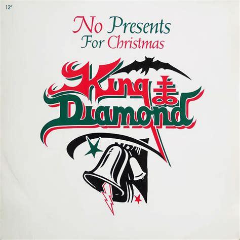 cotes vinyle no presents for christmas par king diamond