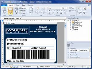 Barcode label printing software tformer v756 shareware for Inventory label software