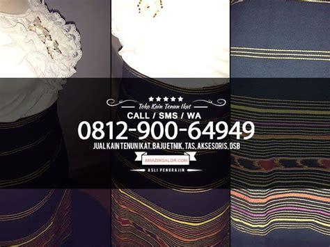 harga kain tenun alor jakarta models  modern