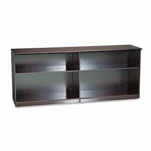 Mlnvlccmah mayline veneer low wall cabinet without doors for Kitchen cabinets lowes with custom oil change stickers