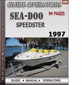Seadoo Speedster 1997 Operators Guide Manual Download