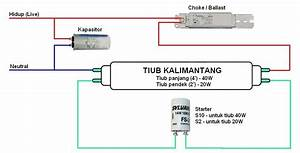 Mengganti Ballast    Choke Pada Lampu Kalimantang Di Rumah Presint 9b Putrajaya