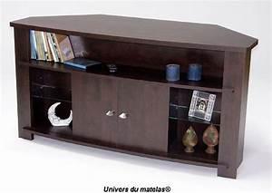 Meuble Tv En Coin : meuble de coin tv meuble d angle pour tele maisonjoffrois ~ Farleysfitness.com Idées de Décoration