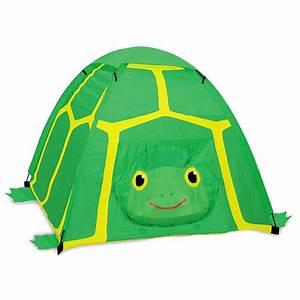 Tente Interieur Enfant : tente tortue verte pour enfants camping int rieur ext rieur melissa doug jouet ~ Teatrodelosmanantiales.com Idées de Décoration