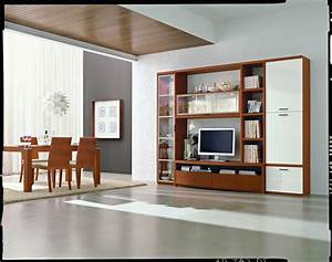 Wall units contemporary dining room miami by