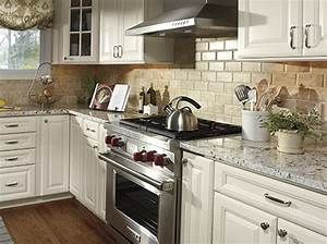 Kitchen counter decor bm furnititure for Kitchen colors with white cabinets with framed wall art set