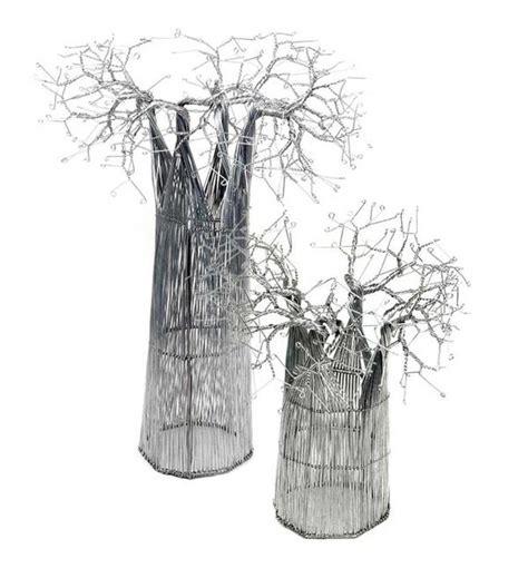recycled wire baobab tree african handmade art swahili