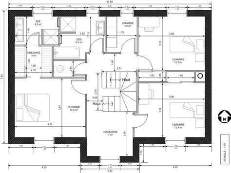 plan maison 5 chambres gratuit plan de maison gratuit r 2