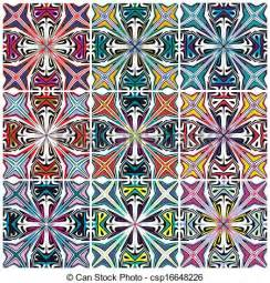 Native American Designs Clip Art Vector