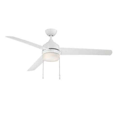 hton bay carrington 60 in indoor outdoor white ceiling