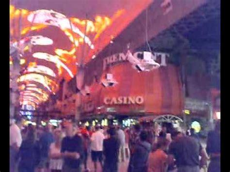 old las vegas light show light show at old las vegas strip downtown youtube
