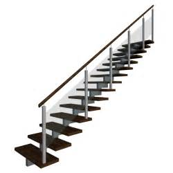 aluminium treppe stairs right handrail design and decorate your room in 3d