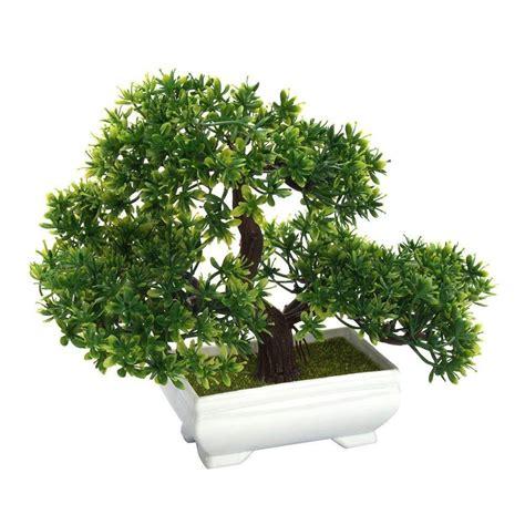 พืชบอนไซประดิษฐ์ต้นไม้พืชปลอมตกแต่งกระถางกรีนเฮ้าส์สำหรับ ...