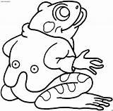 Frog Coloring Frosch Anzug Printable Disegni Anfibi Tree Sheets Colorear Jackett Rana Tiere Dibujos Sheet Gratis Frogs Children Rane Sapos sketch template