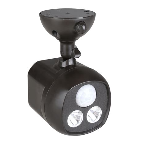 battery operated wireless led spotlight motion sensor