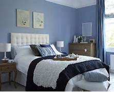 Bedroom Design Blue by Blue Bedroom Decoration With Beige Accent On Wall Bedroom Pinterest Blu