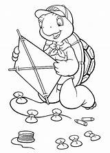 Kite Coloring Pages Fly Guy Convert Kites Oswald Rabbit Lucky Drawing Printable Hi Getcolorings Getdrawings sketch template