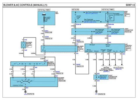 repair guides   dohc  blower ac controls manual autozonecom