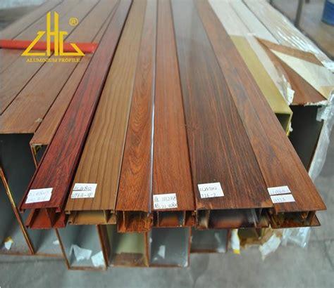 wood grain aluminum box section factory   china