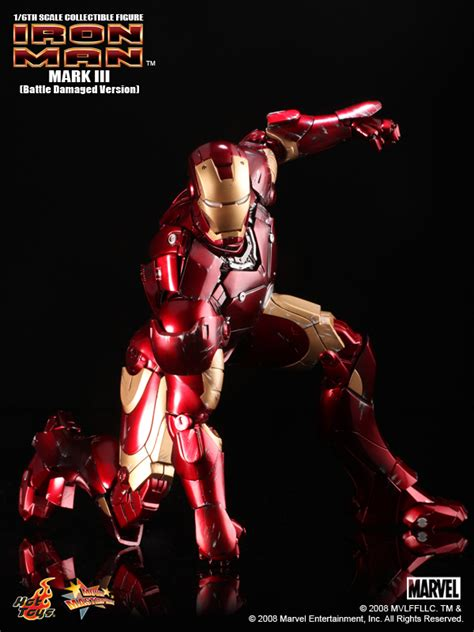 Hot Toys Mms 110 Iron Man 12″ Mark Iii Collectible