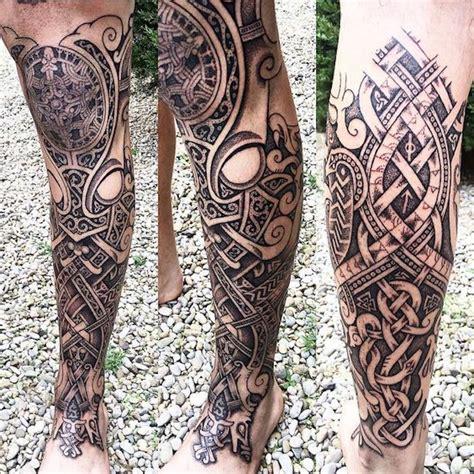Maori Tattoo Bein Excellent Maori Tattoo Frau With Maori