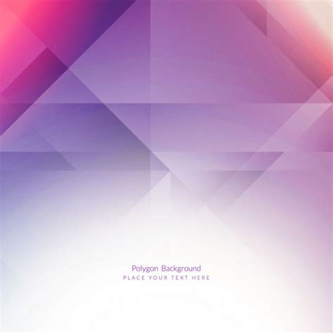 Purple Polygonal Background Vector  Free Download