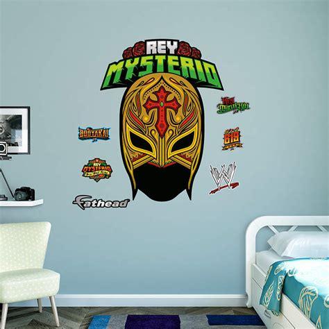 rey mysterio mask wall decal shop fathead  wwe decor