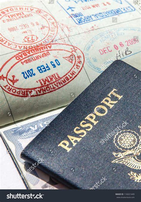Passports And Visas Stock Photo 116021449 : Shutterstock