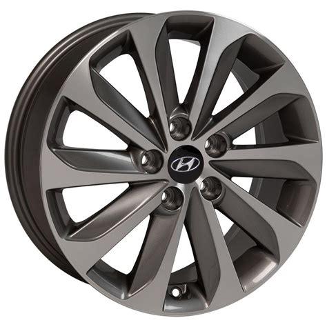 Low price rims packages to all hyundai sonata. 17 Hyundai - Sonata OEM Wheel - Gunmetal Machined Face ...