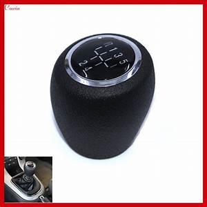 New Black 5 Speed Manual Transmission Gear Shift Knob For