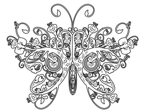 Complicated Coloring Pages For Adults Free To Print