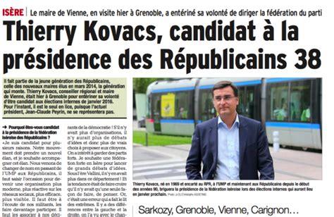 si鑒e de vienne thierry kovacs maire de vienne candidat à la présidence des republicains 38 les républicains 38 fédération de l 39 isère