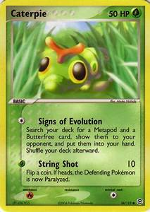 Caterpie (EX FireRed & LeafGreen 56) - Bulbapedia, the ...
