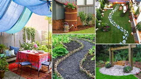 Diy Backyard Ideas On A Budget by Easy And Creative Diy For Backyard Ideas On A Budget