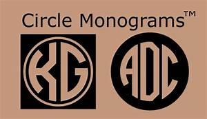 circle monogramstm harold39s fonts With circle monogram maker