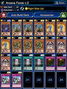 Deck, Arcana, Force, Alot, Of, People, Asked, Me, For, My, Arcana, Force, Decklist, After, My, Meme