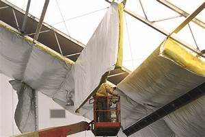 Tips On How To Fix Falling Insulation In A Metal Building
