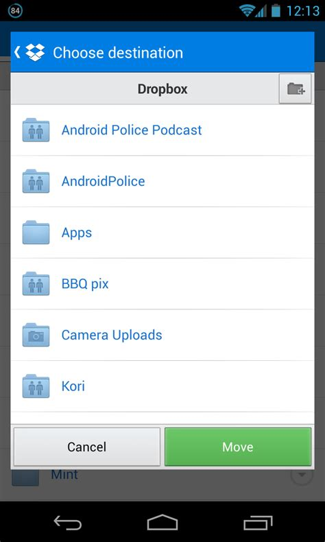 dropbox android dropbox for android updated to v2 2 2 finally brings the