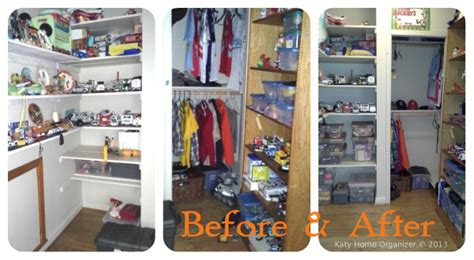 Kids Room Organization Before & After Pics