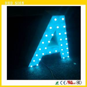 led sign board lighted letters buy led sign lights With lighted letter board