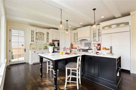 kitchen island extension 30 kitchen islands with tables a simple but clever combo