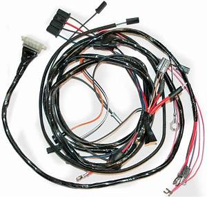 1963 Corvette Engine Wiring Harness Without A  C