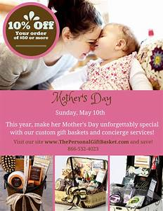Mother's Day Special: Sunday, May 10th | Personal Gift Basket