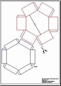 Runde Schachtel Basteln : bastelaunleitung sechseckige faltschachtel aus karton ~ Frokenaadalensverden.com Haus und Dekorationen