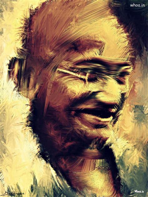 mahatma gandhi creative oil painting