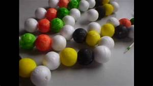 DNA MODEL WITH STYROFOAM BALLS BY FERNANDO&PAULA - YouTube