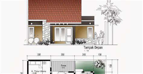 gambar desain rumah lengkap  taman  kolam renang