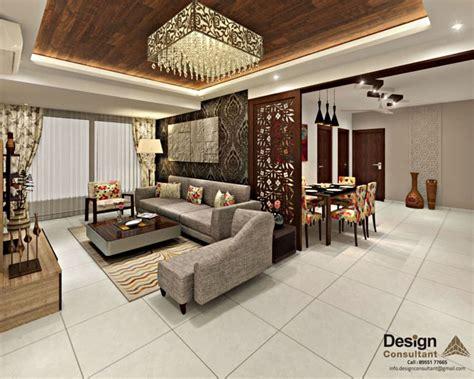 Interior Design For 3bhk Home : 3bhk Flat Interior Design And Decorate At Mangalam Grand