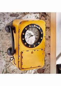 Was Ist Retro : die retro wanduhr ist ein echter hingucker der sich als ein altes telefon tarnt ab 34 99 ~ Eleganceandgraceweddings.com Haus und Dekorationen